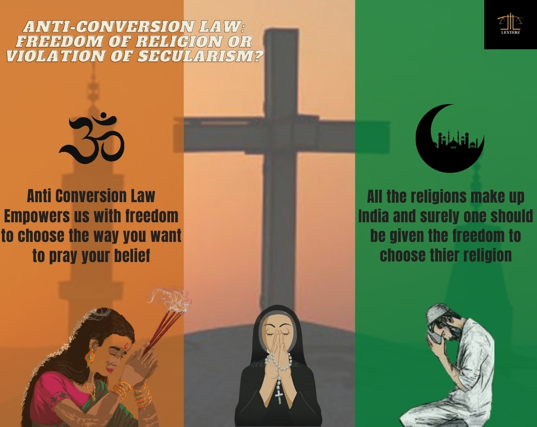 ANTI-CONVERSION LAW: FREEDOM OF RELIGION OR VIOLATION OF SECULARISM?